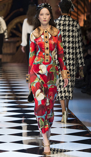 Dolce   Gabbana Fall 2016 Ready-to-Wear Collection - Luxurious ... c2598ee72f9